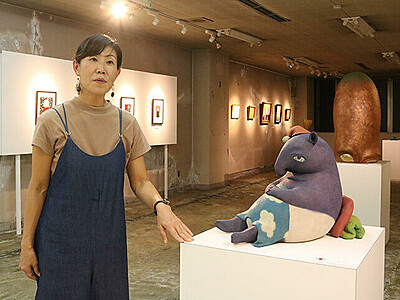 古ビルにアートスタジオ開設 高岡・山町筋