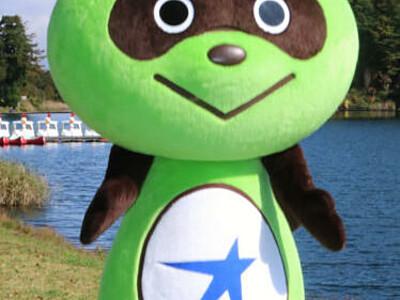 「おみぽん」の着ぐるみ完成 麻績村のキャラクター