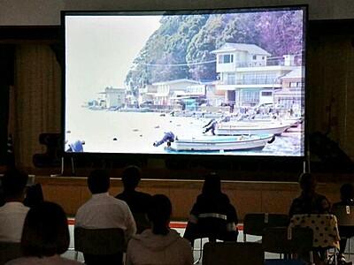 常神の風土、海越え発信 中編映画が米映画祭ノミネート