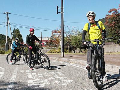 E-バイク6台導入 立山町観光協会、11月7日ツアー