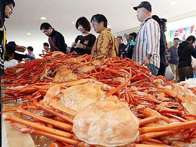 富山湾の海鮮弁当味わって 11月と21年2月、新湊カニ・白えびまつり代替イベント