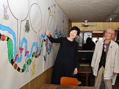 「鉄道と旅」の古本喫茶 泰阜・温田駅前、プレオープン
