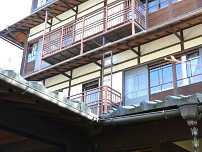若者と探る休業旅館再生 別所温泉「柏屋別荘」地域拠点視野に