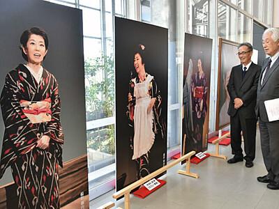 森光子さんの足跡、諏訪でたどる CM出演の縁、タケヤ味噌会館