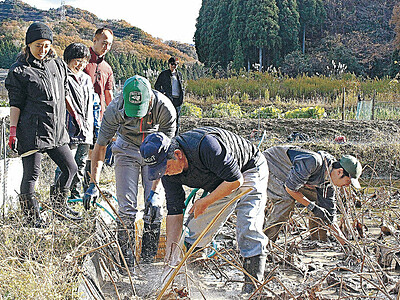 「自然学校」生き方探求 1泊2日収穫体験 小松・滝ケ原