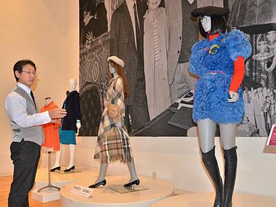須坂で高田賢三さん追悼展 世界の民俗人形博物館