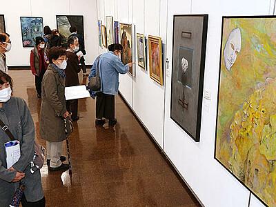意欲作6分野523点 富山県美術連合展