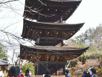 塩田平、札所巡り歩く 日本遺産の認知度向上へ初開催