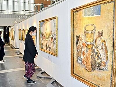 故松宮昂さんの第2期作品展 若狭町で12月27日まで