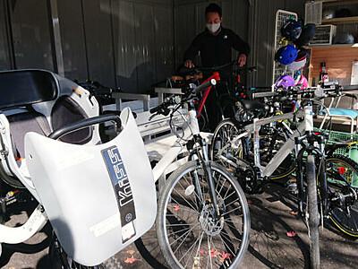 木祖村巡る自転車モデルコース ガイドツアーなど構想も