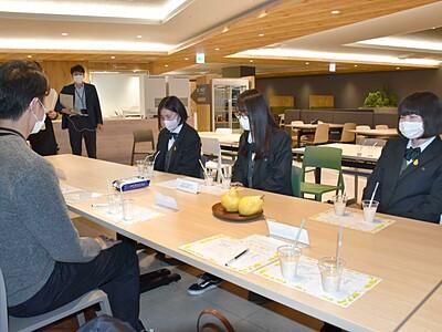 「ル・レクチエスムージー」上越新幹線で 高校生が協力