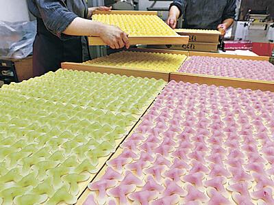 辻占製造ピーク 白山の和菓子店