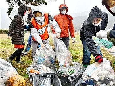 敦賀の海辺、景観守る 市民有志が清掃団体を発足 福井県