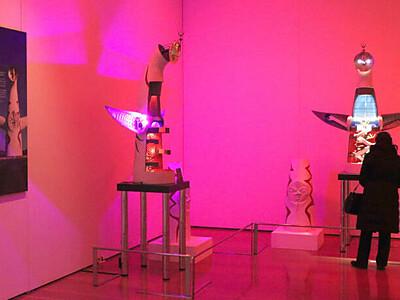 「芸術は爆発だ!」 岡本太郎展 新潟市 万代島美術館