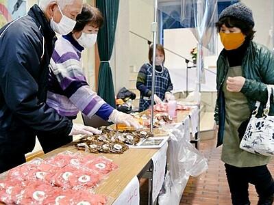 「杉箸アカカンバ」いかが 福井・敦賀市役所で販売会