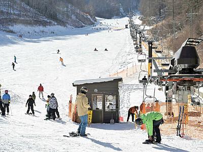 上田 番所ヶ原スキー場 被災乗り越えにぎわい復活