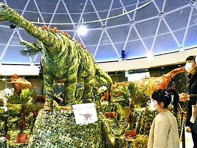 迫力たっぷり恐竜クラフト 坂井市の福井県児童科学館