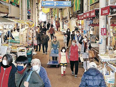 おみちょ300年、静かなスタート 金沢、観光客激減