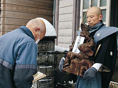 えびす像に大漁願う 輪島で恵比須講祭