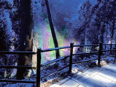 名勝・天竜峡の夜の顔 29日からライトアップ