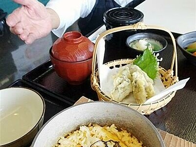 若狭かき堪能して 福井県小浜・濱の四季が新メニュー