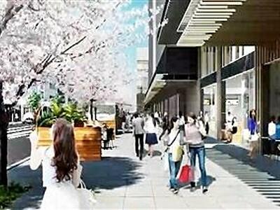 福井駅西口、ホテル棟建設など動画で発信 組合がHP開設