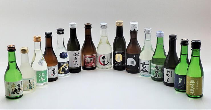 新たに発売される飲みきりサイズの日本酒