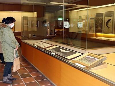 新潟県出身画家の秀作 一堂に 長岡・良寛の里美術館