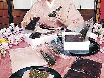 桜餅家庭で作って 森八が体験セット