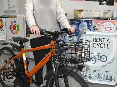 須坂と高山「eバイク」で楽々観光を 両観光協が貸し出し計画