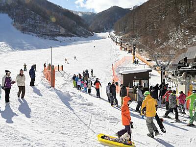開業40周年、抽選でシーズン券 上田の番所ケ原スキー場