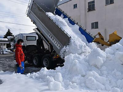 雪まつり、今年は巡って楽しんで 飯山で開催へ準備着々