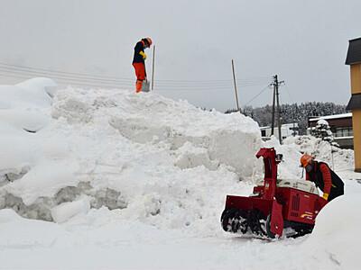 悩んで手探り、雪まつり準備 飯山で13日から2日間