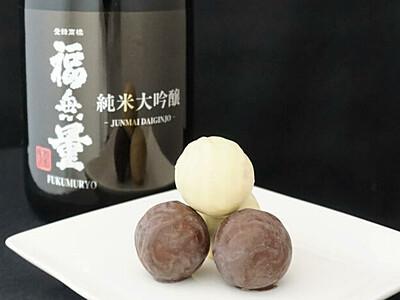 スパイス入り日本酒のチョコ 上田の酒造、高知の企業と開発