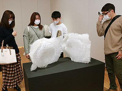 学生の意欲作紹介 ガラス造形研卒業制作展
