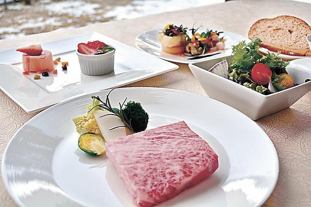 食材が石川産となるディナー