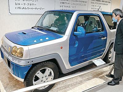ダイハツSP-4展示 世界に1台「小型SUVのはしり」 小松の自動車博物館
