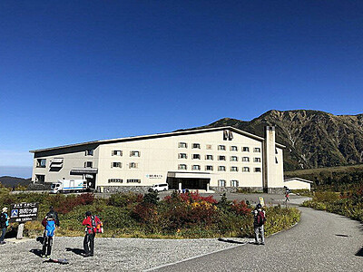 立山で手軽に豪華キャンプ 弥陀ヶ原にグランピング施設検討
