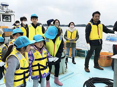 海・川・山の仕事知ろう 水橋漁民合同組合、今夏子ども向けツアー