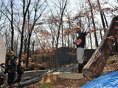 長野に「オランウータンの森」 茶臼山動物園でほぼ完成