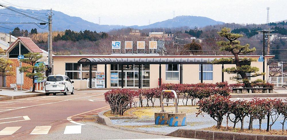 3月13日から無人化されるJR七尾線高松駅=かほく市