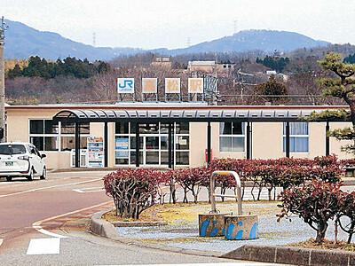七尾・北陸線、来月6駅無人化 JR西、利用減少で