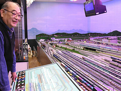 須坂「鉄博」24年の歴史に幕 国内最大級、車両模型4000両