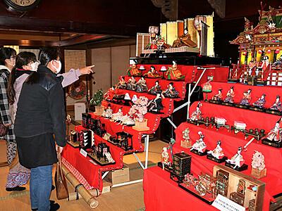 華やか80体 ふくおかひなまつり 昭和初期や大正の人形も