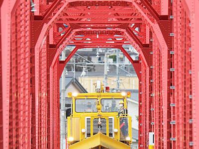 別所線「赤い橋」復活軌道に 「ようやくここまで...あと少し」
