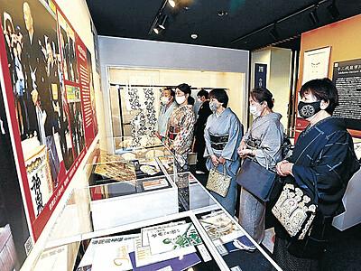 「歌舞伎のまち」魅力伝え 小松でギャラリーオープン