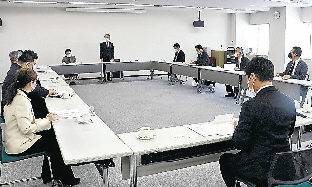 かなざわ・まち博2021の第1回開催委員会=北國新聞会館