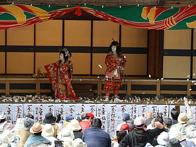大鹿歌舞伎、ネット配信で 5月3日に春の定期公演