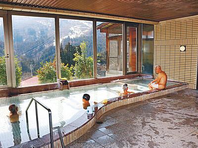 宿泊施設閉館...亀谷温泉は残った 住民結集、銭湯を来月オープン