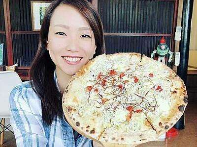 本格石窯焼きピザ「ウッディパパ」、オススメしらす入り 福井県美浜町【ふくジェンヌ】